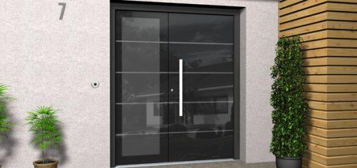 Haustür Aluminium Glas Preis