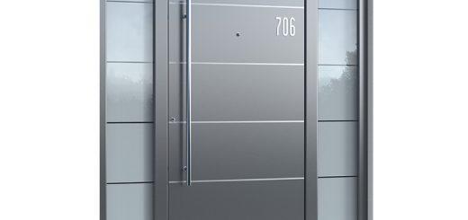 Haustüren Aluminium Schüco