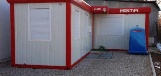gebrauchte Bürocontainer