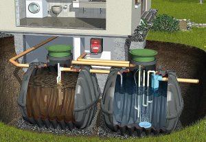 hišna čistilna naprava