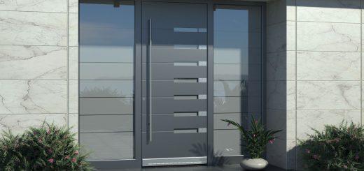 Moderne Haustüren Aluminium