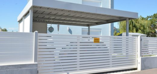 Doppelcarport Aluminium Bausatz