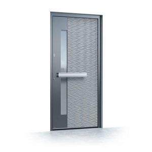 Haustür aus Aluminium Pirnar