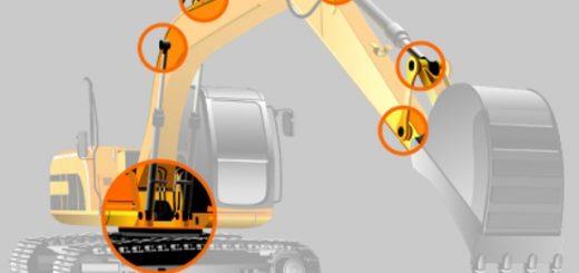 Bolzen für Arbeitsmaschinen Kovan