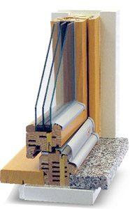 holzfenster detail