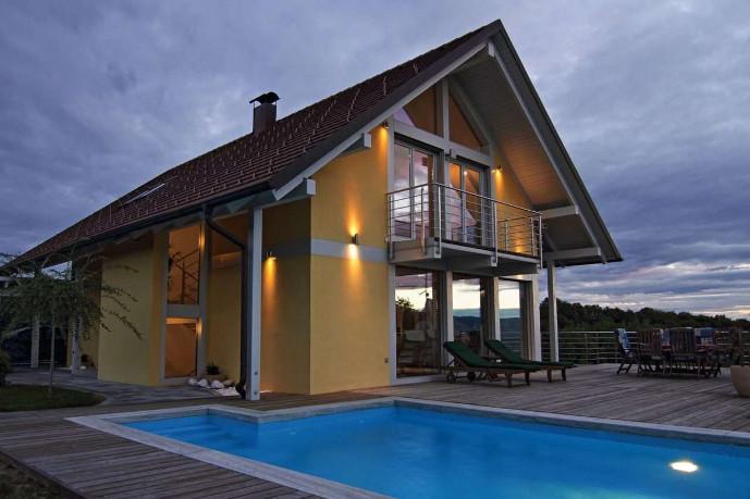 Einfamilienhaus modern – Neubau mit erstklassiger Architektur und Design