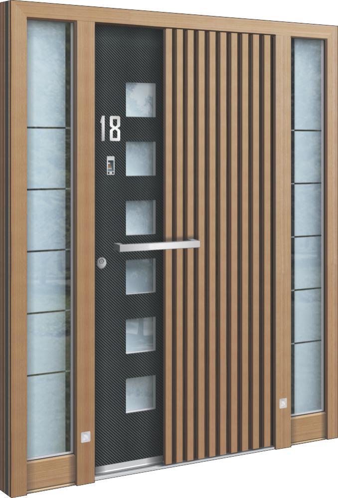 hochwertige holz aluminium oder stahl haust ren. Black Bedroom Furniture Sets. Home Design Ideas